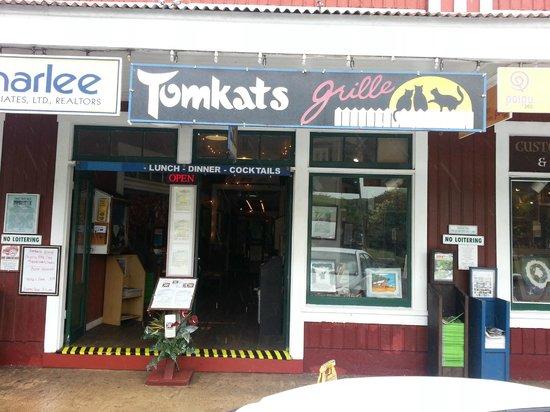 Tomkats Grille: ingang