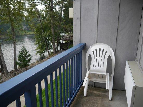 Edgewater Inn : Balkon