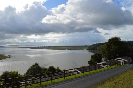 View from Laugharne Park across estuary - Stunning