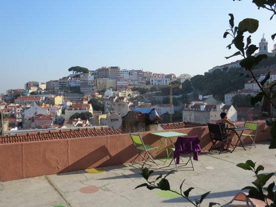 This is Lisbon Hostel : le moment du petit déjeuner...