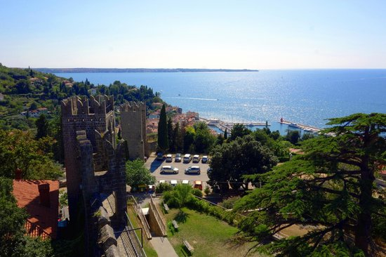 Piran, Slovenien: View from the town wall