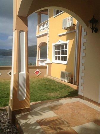 Au Fond de Mer View: outside the apartment