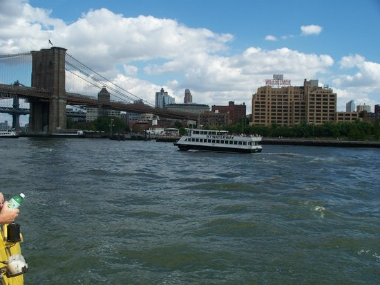 All New York Tours: Approaching Brooklyn Bridge
