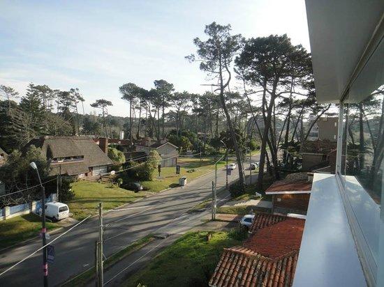 Sisai Hotel Boutique: Vista da janela do apartamento