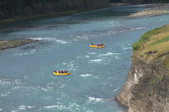 Chinook Rafting : photos taken by other guides - offered images on disc