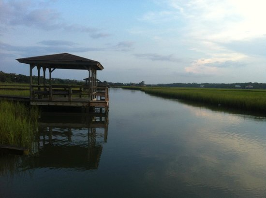 The Pelican Inn: View from the Dock