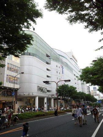 Shopping area in Sakae