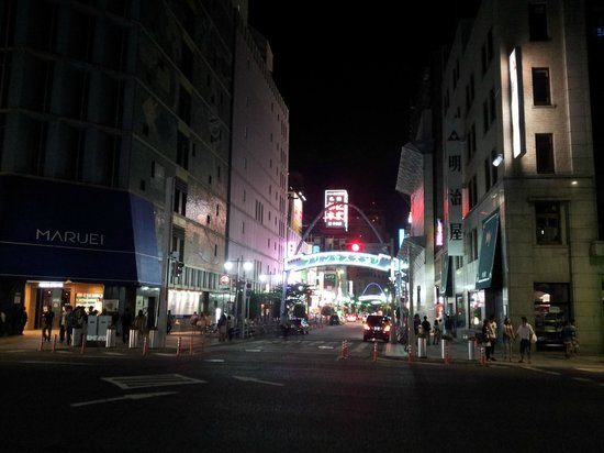 Sakae: Night time