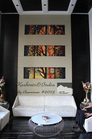 Hotel City Star: reception room