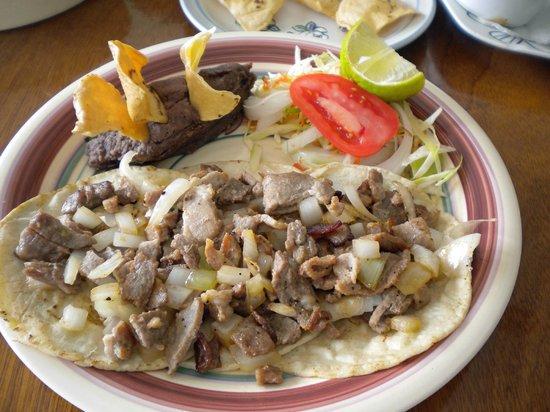 El Ultimo Maya : Tacos de Res