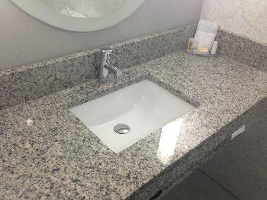 Comfort Inn Williamsburg Gateway: rennovated bathroom
