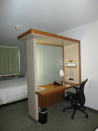 SpringHill Suites Miami Downtown/Medical Center : Desk area