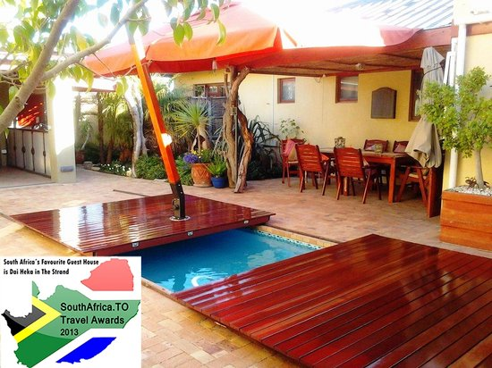 Swimming Pool With Lockable Wooden Sliding Cover Picture Of Dai Heka Boutique Guest House