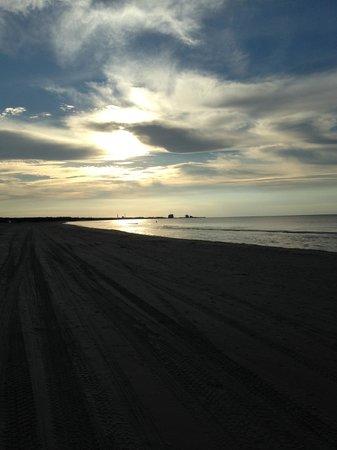 Skaga Hotel : Den smukke strand