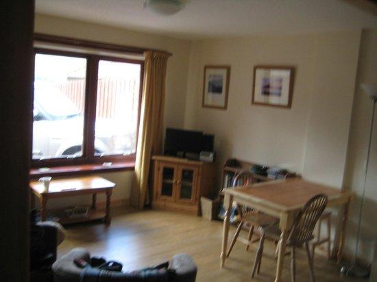Burnlea Bed & Breakfast: Cottage living area