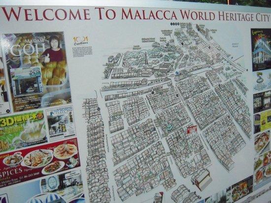 Hotel Hong: Mapa