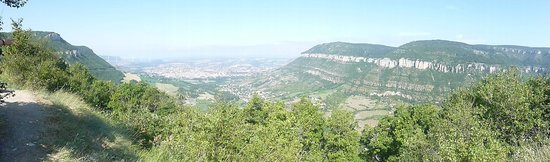 RCN Val de Cantobre: Views over Millau