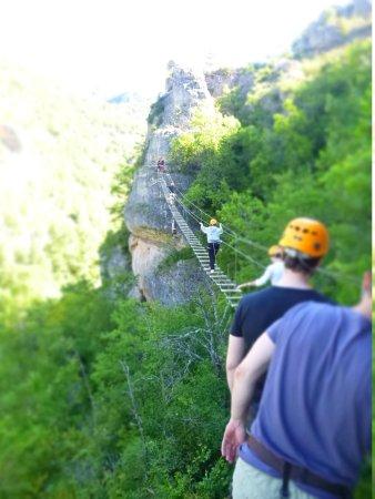 RCN Val de Cantobre: Climbing near millau