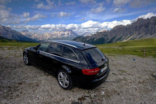 Passo Giau: Audi