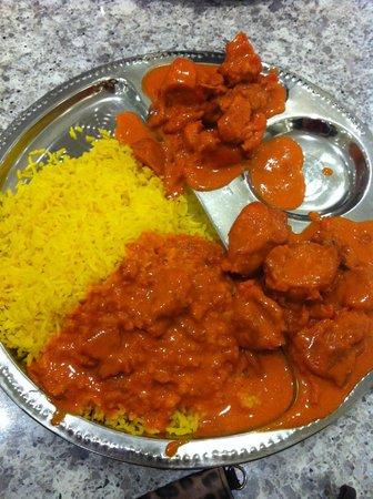 Spice Club Indian Brasserie: Delicious Butter Chicken