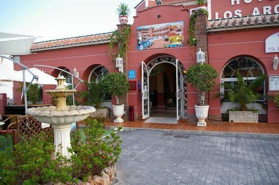 Hotel Los Arcos: Entrée