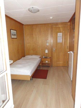 Alpina Hotel: my room (from the balcony)