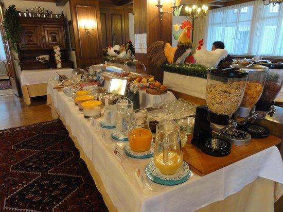 Alpina Hotel : adequate and appetizing