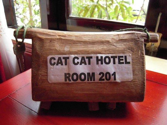 Cat Cat Hotel : Llave
