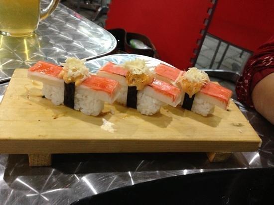 Zushioda Bali: sushi