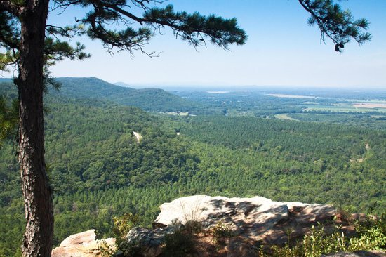 Petit Jean State Park: View from Jean Petit