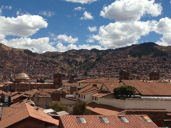 Hotel Suenos del Inka : View from hotel room