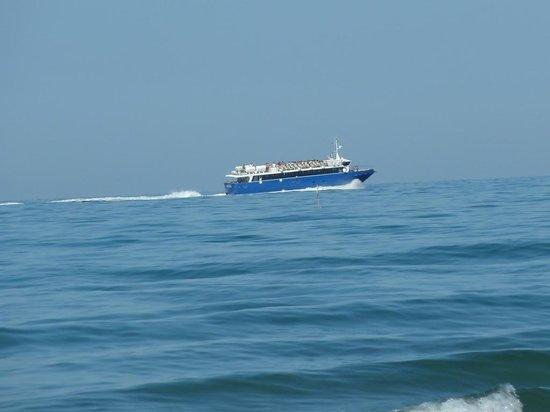 5 Terre Gulf of the Poets : La motonave