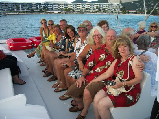 Calypso Dinner Cruise: Great time had with friends old and new