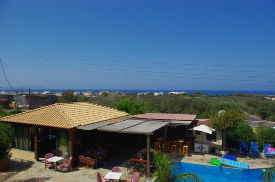 Petros Village : view from the room