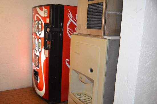 Motel 6 Tampa - Fairgrounds: Soda and ice machines.