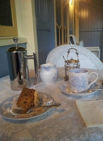 Number 12 : Greeted with afternoon tea
