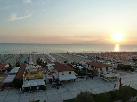 Hotel Biagiotti : Tramonto dalla terrazza