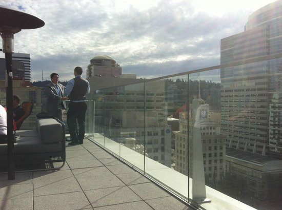 The Nines, a Luxury Collection Hotel, Portland: view from the roof