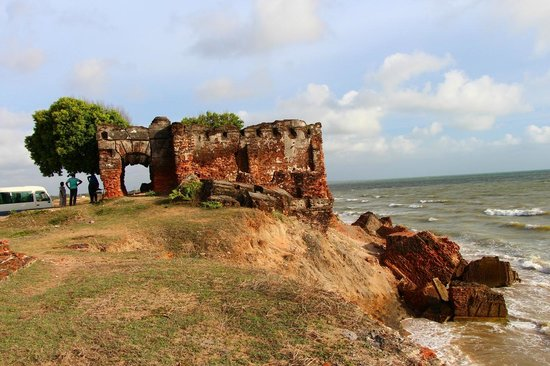 Mannar, Sri Lanka: The Doric