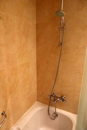 Lagoas Park Hotel: Shower