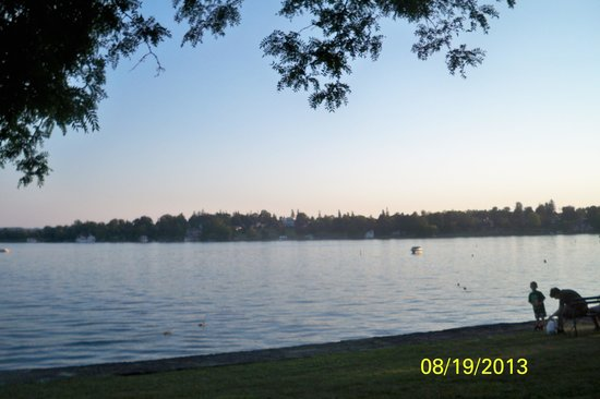 Skaneateles Suites: View of the Lake on a Summer Evening