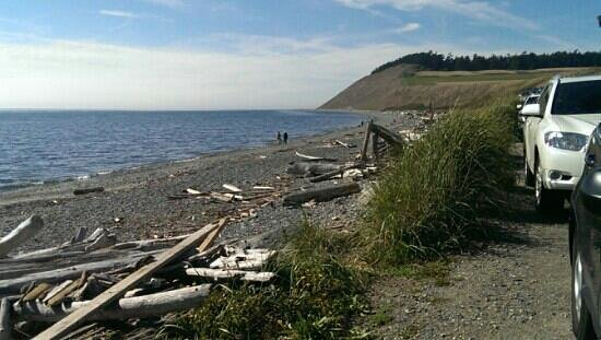 Ebey's Landing National Historical Reserve: view of water