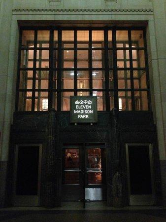 Eleven Madison Park: Eingang zum Restaurant