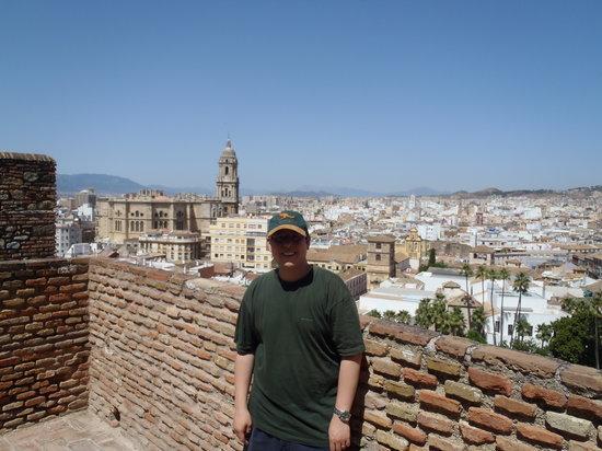 Catalonia Giralda Hotel: room view from top floor (2nd night 65 EUR)