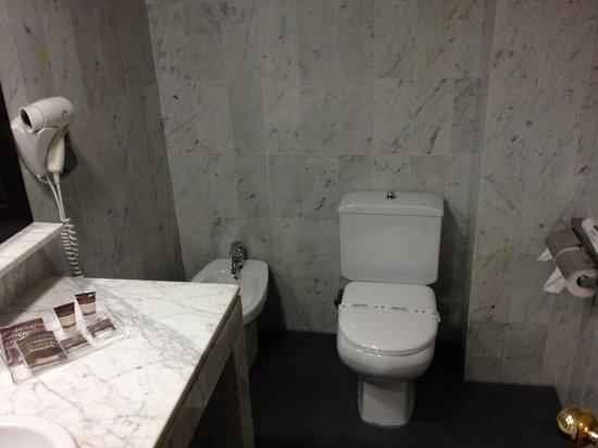 Catalonia Giralda Hotel : washroom (2nd night 65 EUR)