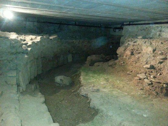 Abbaye de Caunes Minervois: crypte