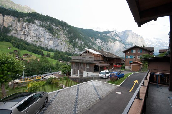 Valley Hostel: View from balcony