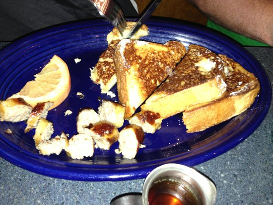 Hot Suppa: Really yummy French toast and sausage links