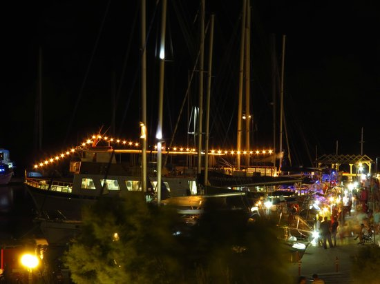 Portiani Hotel: Vista nocturna
