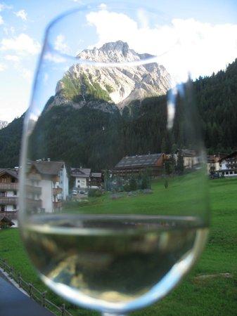 Hotel Sassleng: Blick vom Balkon unseres Zimmers